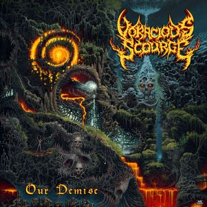 isp043 Voracious Scourge - Our Demise cover